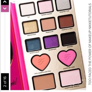 Too faced the power of makeup palette